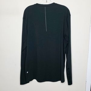 Lululemon XXL Black Long Crewneck Sleeve Shirt